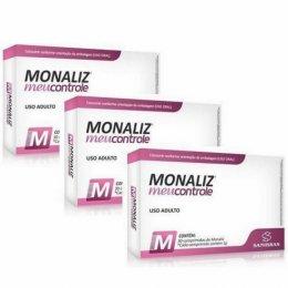 Monaliz Meu Controle (30 caps) - 3 unidades