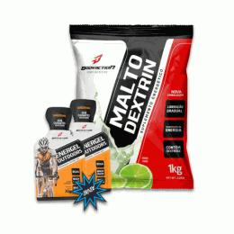 Maltodextrina (1kg) + 2 unidades Sachê Energel Outdoor (30g)