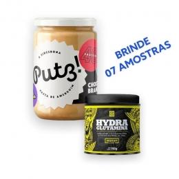 Combo Pasta de Amendoim + Hydra Gluta