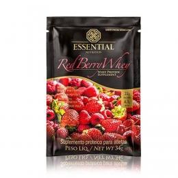 Red Berry Whey Sachê (32g) - Essential Nutrition